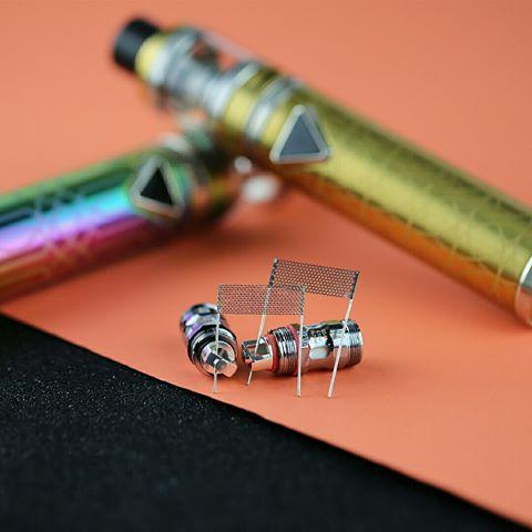 Eleaf iJust ECM Starter Kit mesh coils