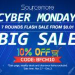 Cyber Mondy Sale Comes!