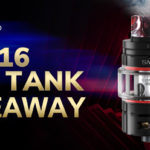 To win a SMOK TFV16 Lite Tank here!