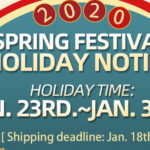 Sourcemore Spring Festival Holiday Notice