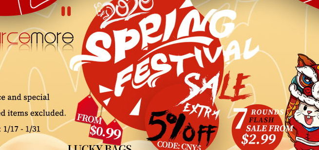 Sourcemore Spring Festival Sale