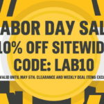 Labor Day Sale 10% Off Sitewide!