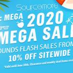 SOUECEMORE 2020 MEGA SALE / 10% OFF SIDEWIDE