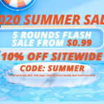 Sourcemore 2020 Summer Sale / 5 Rounds Flash Sale From $0.99