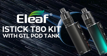 Eleaf iStick T80 Kit with GTL Pod Tank